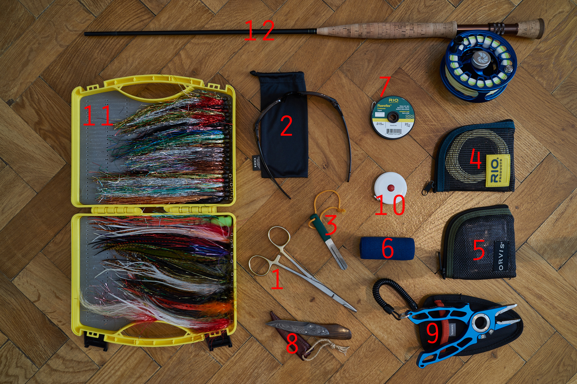 Essential tools for pike fly fishing fly fishing blog for Essential fishing gear