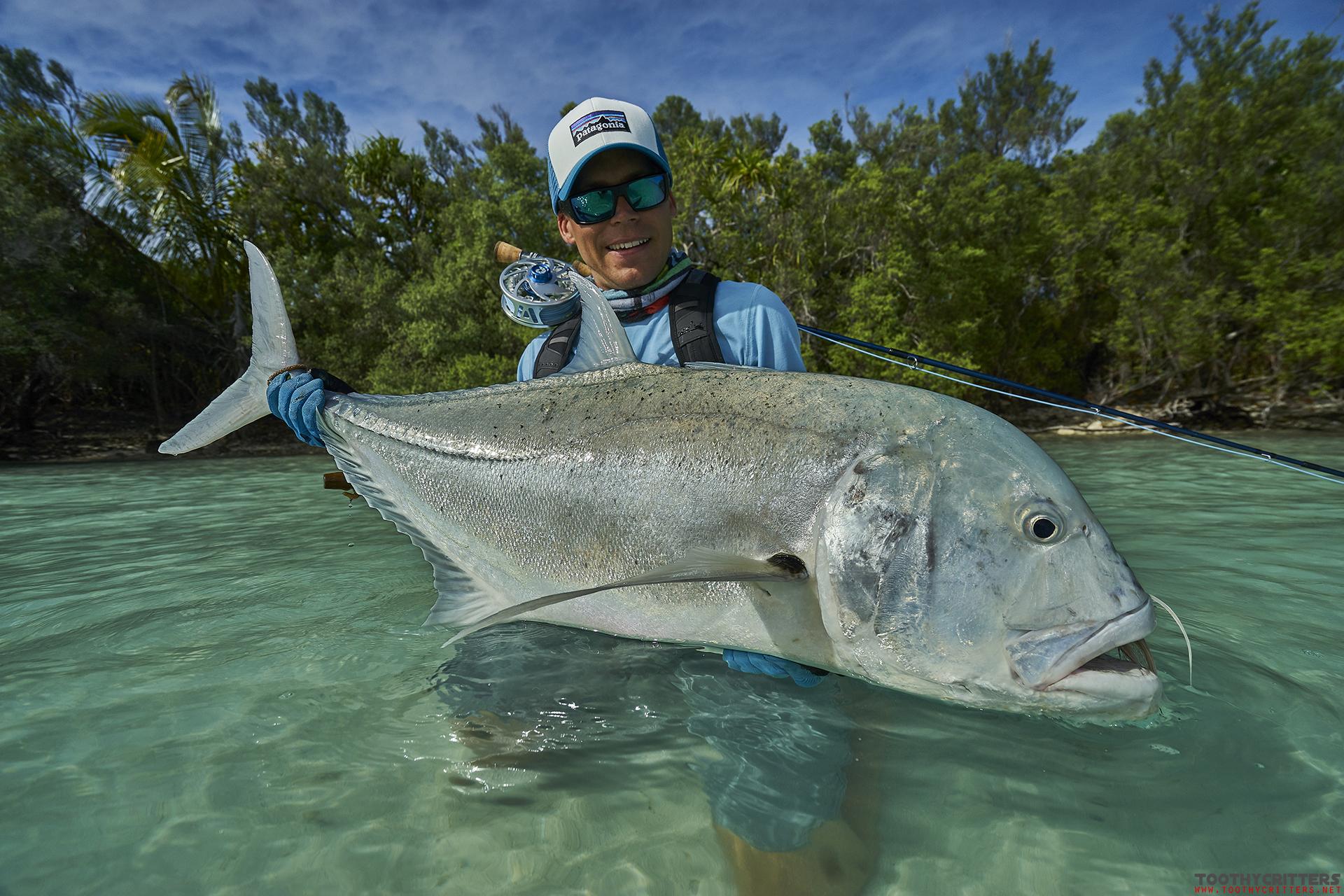 Fly fishing Aitutaki 2017