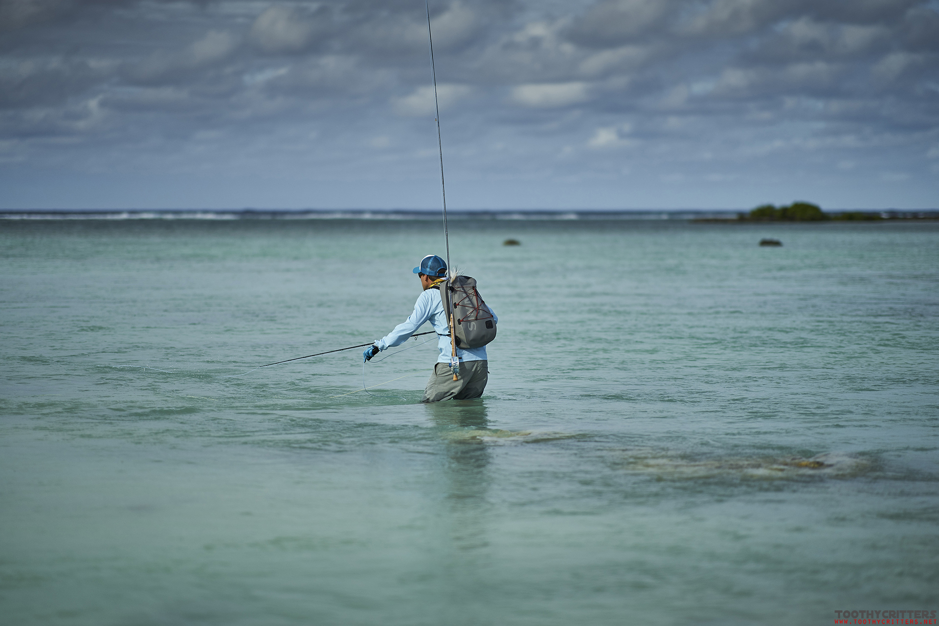 Fly fishing Aitutaki 2017