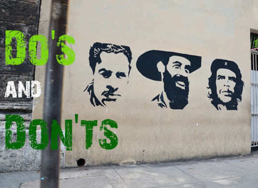ToothyCritters Cuba Dos and Donts