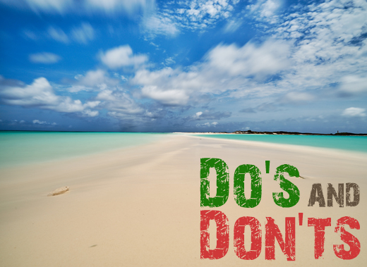 ToothyCritters LosRoques Dos and Donts