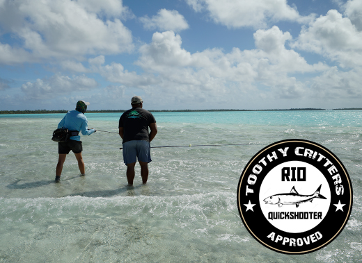 ToothyCritters RIO Bonefish Quickshooter